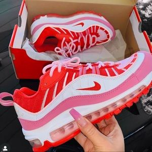 Women's Nike Air Max  98  Track Red /Rouge Piste